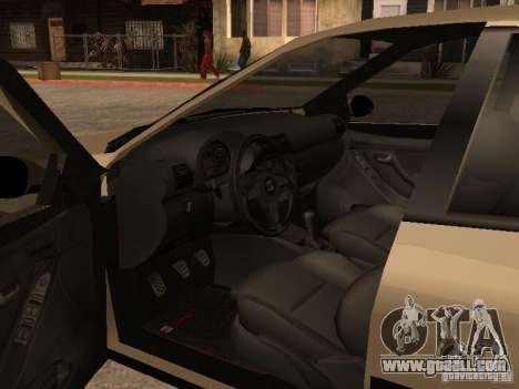 Seat Toledo 1.9 1999 for GTA San Andreas inner view