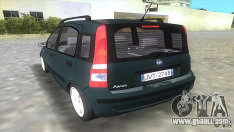 Fiat Panda 2004 for GTA Vice City left view
