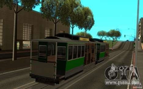 New tram mod for GTA San Andreas left view