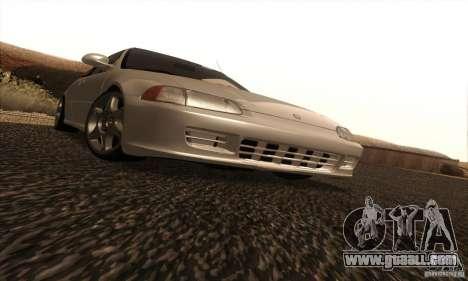 Honda Civic VTI 1994 for GTA San Andreas inner view