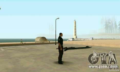 Sword of Nero in Devil May Cry 4 for GTA San Andreas second screenshot
