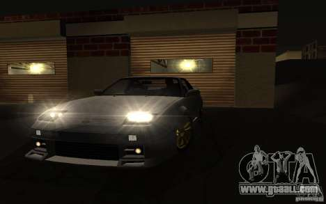 Nissan 240SX X1800 for GTA San Andreas back left view