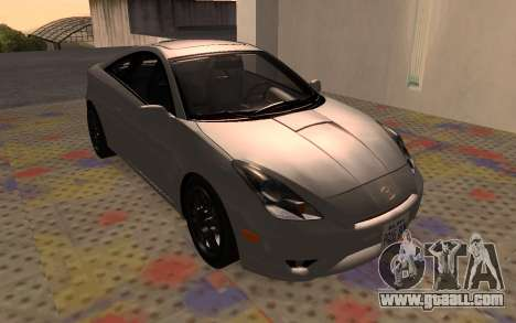 Toyota Celica 2JZ-GTE for GTA San Andreas back left view