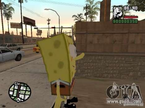 Sponge Bob for GTA San Andreas second screenshot