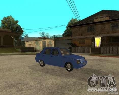 ZAZ 1103 Slavuta for GTA San Andreas right view