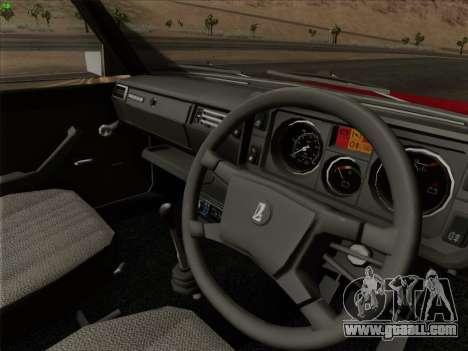 Lada 2105 RIVA (export) 2.0 for GTA San Andreas wheels