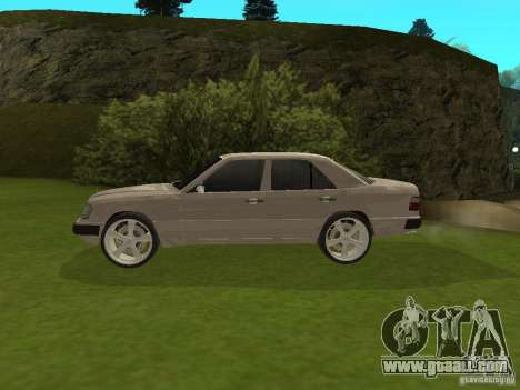 Mercedes-Benz 300 E for GTA San Andreas left view
