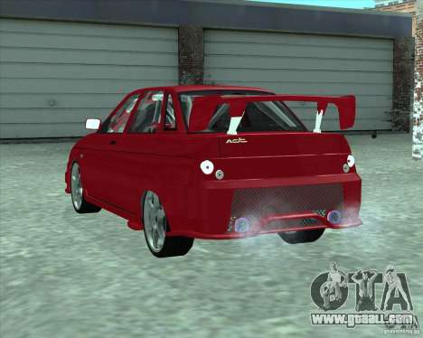 LADA 21103 Street Tuning v1.0 for GTA San Andreas left view
