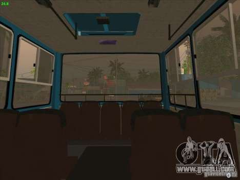 Trailer for Ikarus 280.03 for GTA San Andreas back left view