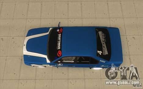 BMW E34 V8 for GTA San Andreas right view