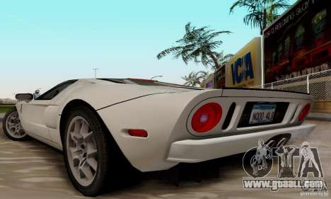 Ford GT 2005 for GTA San Andreas right view