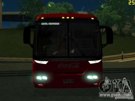 Scania K310 for GTA San Andreas inner view