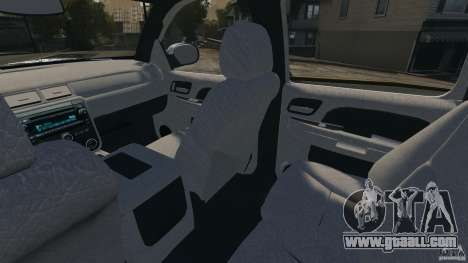 Chevrolet Avalanche Stock [Beta] for GTA 4 inner view