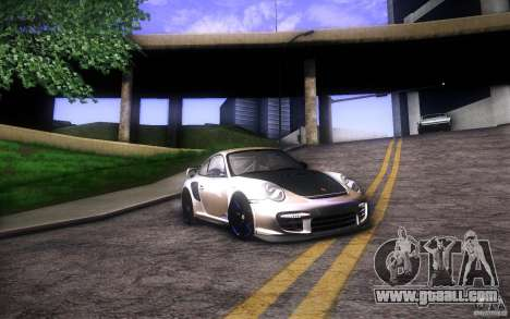 Porsche 911 GT2 RS 2012 for GTA San Andreas back left view