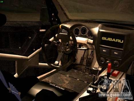 Subaru Impreza Gravel Rally for GTA San Andreas side view