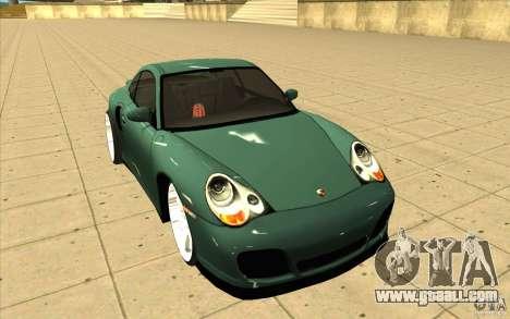 Porsche 911 Turbo for GTA San Andreas back view