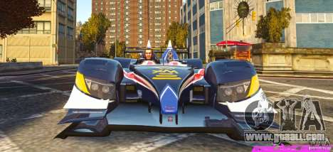 Acura Fernandez ARX for GTA 4 back left view