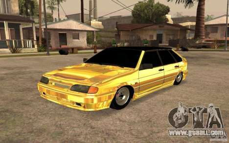 ВАЗ 2114 GOLD for GTA San Andreas