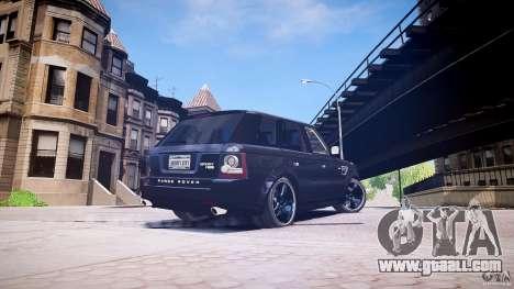 Range Rover Sport for GTA 4 left view