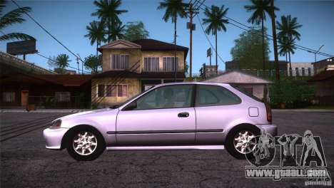Honda Civic Tuneable for GTA San Andreas left view