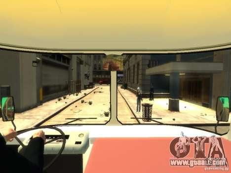 PAZ 672 for GTA 4 inner view