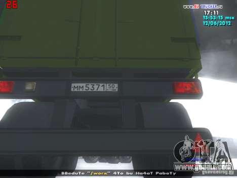 Nefaz 93344 for GTA San Andreas back view