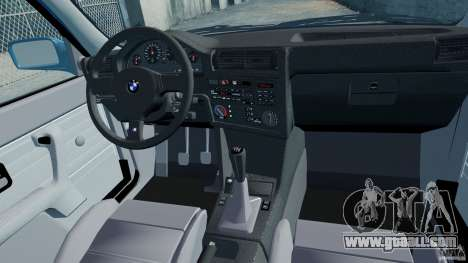 BMW M3 E30 FINAL for GTA 4 inner view