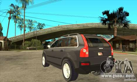 Volvo XC90 Sport for GTA San Andreas back left view
