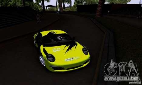 Porsche 911 Carrera S for GTA San Andreas inner view