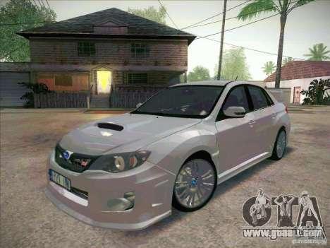 Subaru Impreza WRX STI 2011 Sedan for GTA San Andreas