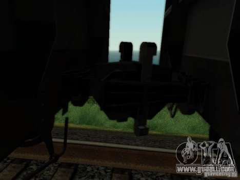 Boxcar for GTA San Andreas back view