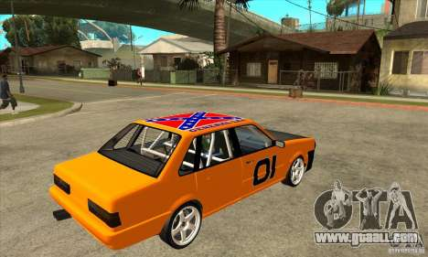 Audi 80 for GTA San Andreas right view