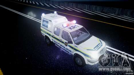 Nissan Frontier Essex Police Unit for GTA 4 upper view