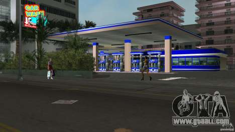 Aral Tankstelle Mod for GTA Vice City