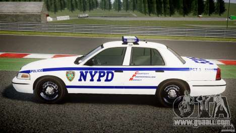 Ford Crown Victoria NYPD [ELS] for GTA 4 left view