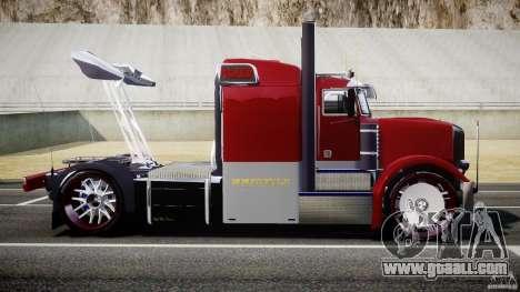 Peterbilt Sport Truck Custom for GTA 4 left view