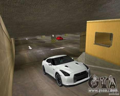 Nissan GT R35 Vspec for GTA Vice City