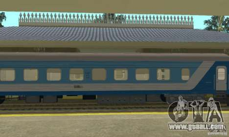 61-779 compartment car for GTA San Andreas left view