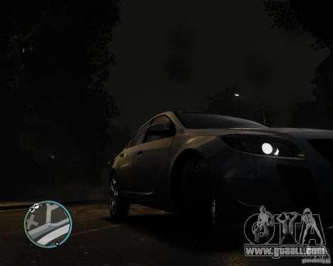 Vauxhall Insignia v1.0 for GTA 4 back left view