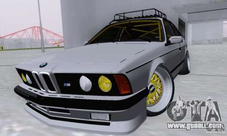BMW M635CSi Stanced for GTA San Andreas