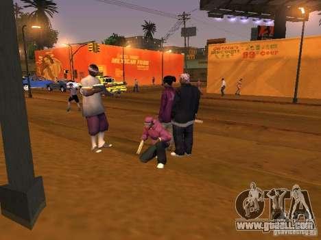 Ballas 4 Life for GTA San Andreas twelth screenshot