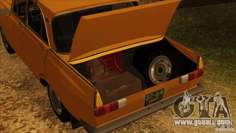 Moskvich 412 v2.0 for GTA San Andreas wheels