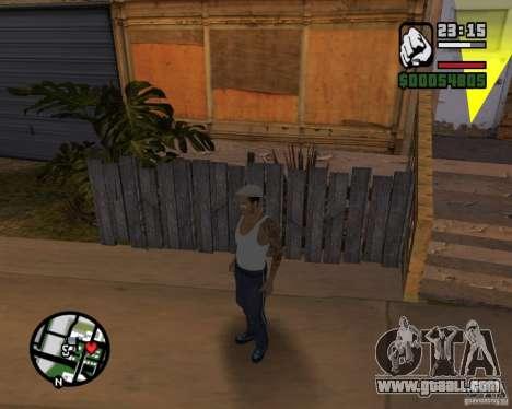 Cj Gopnik for GTA San Andreas forth screenshot
