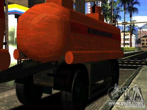 MAZ 533702 Truck for GTA San Andreas side view