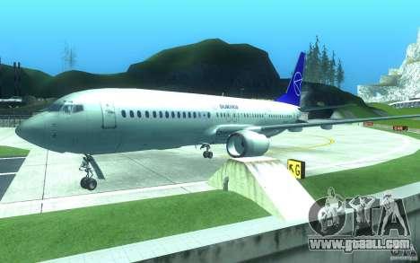 Sukhoi SuperJet-100 for GTA San Andreas inner view