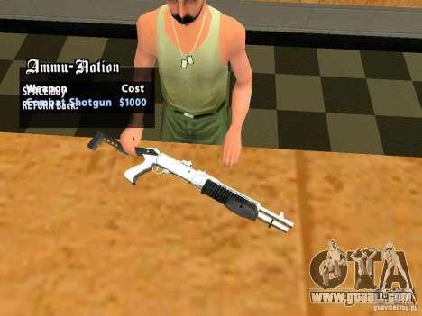 TeK Weapon Pack for GTA San Andreas eleventh screenshot