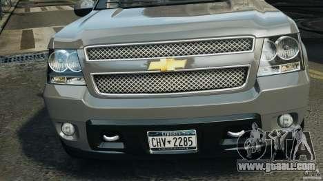 Chevrolet Suburban GMT900 2008 v1.0 for GTA 4 inner view