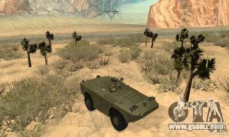 BRDM-1 Skin 1 for GTA San Andreas