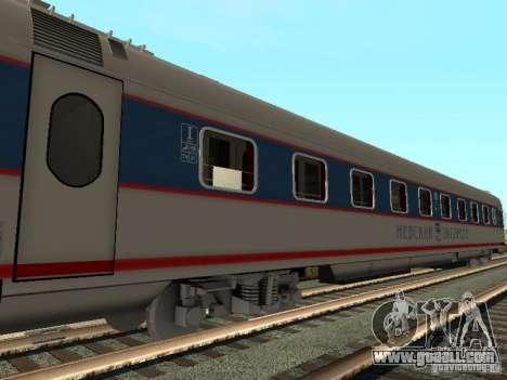 Nevsky express for GTA San Andreas