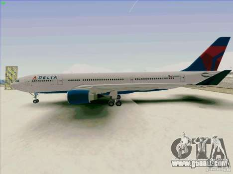 Airbus A330-200 for GTA San Andreas left view